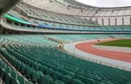 Azərbaycan - Belarus oyunu boş tribunalar önündə - Foto