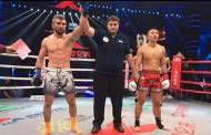 """Azərbaycan kikboksçusu """"Kunlun Fight 56"""" turnirinə qələbə ilə başlayıb"""