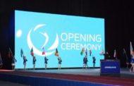 Batut gimnastikası və tamblinq üzrə dünya kuboku yarışlarının açılış mərasiminin son məşqi keçirilib