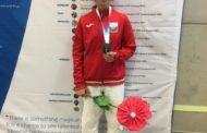 Azərbaycan yeniyetmələrin 14-cü Avropa Olimpiya Festivalında ilk medalını qazandı