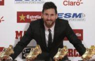 Messi 4-cü dəfə