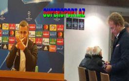İtaliyada Qurban Qurbanova hörmətsizlik - Video