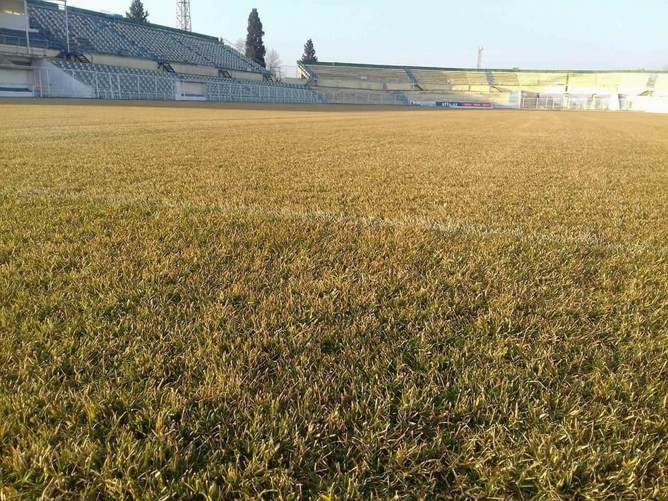 AFFA-nın düzəltdirdiyi stadion pis gündə - azarkeşlər qəzəbləndi