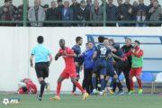 Futbolumuzda təpik-yumruq davası - Video