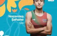 Şahanə Nəzərova Olimpiadada bürünc medal qazandı