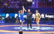 İrina bürünc medal qazandı