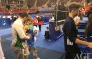 Mariya Stadnik gümüş medal qazandı
