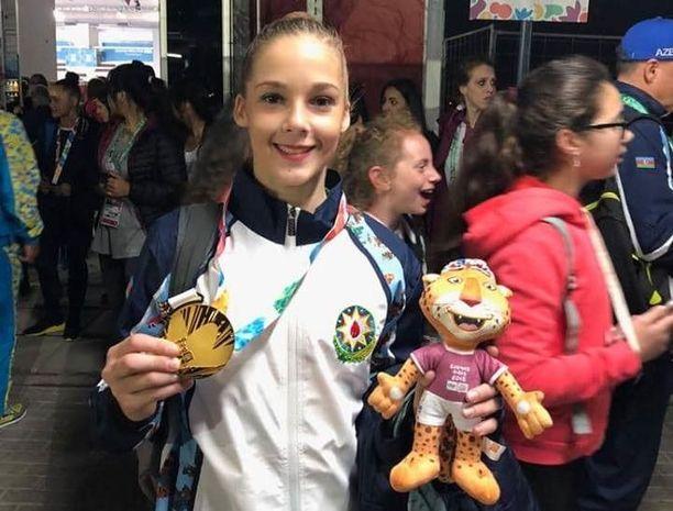 Gimnastımız qızıl medal qazandı