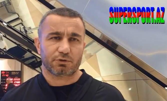 Qurban Qurbanovdan azarkeşlərə cavab - Video