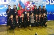 Sərbəst güləşçilərdən İranda 5 medal