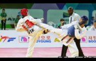 Taekvondoçularımız dünya çempionatında yarımfinala vəsiqə qazanıb