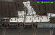 Respublika stadionunun uçan dam örtüyü - Video
