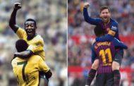 Messi Peleni təkrarladı - Foto