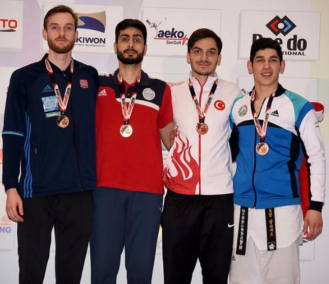 Taekvondoçularımız 6 medal qazandılar