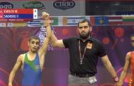 Azərbaycan güləşçisi finalda rusiyalını çökdürdü
