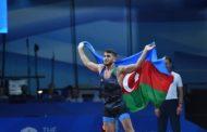 Hacı Əliyev olimpiya çempionundan qisas aldı - qalib oldu - Video