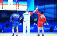 Samboçumuz erməniyə dərs verib medal qazandı - Şəkil