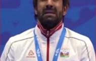 Rafael Ağayevin göz yaşları - Video