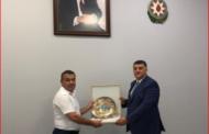 Raqif Abbasov Ulmas Raşidovla görüşdü - Şəkil
