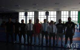 Çempionlar Tovuzda Güləş Klubunun açılışını etdi