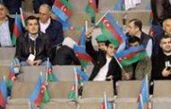 """""""Qarabağ""""ın oyununda 30 min Azərbaycan bayrağı – Fotoreportaj"""