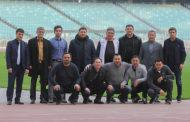 Qırğızıstan Futbol Federasiyasının rəsmiləri Bakıda