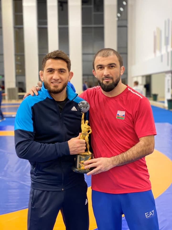 Hacı Əliyev Rusiyada birinci oldu