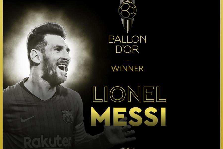 Messi 6-cı dəfə