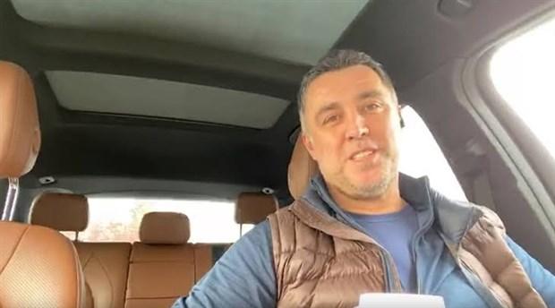 Hakan Şükür sürücü oldu - Video