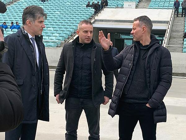 Rayan Giqqz Bakı Olimpiya Stadionunda - Şəkil