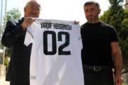 """""""Qarabağ""""ın forması icra başçısına hədiyyə edildi - Şəkillər"""