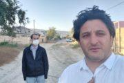 Millinin baş məşqçisi koronavirusa qalib gələn jurnalisti ziyarət etdi - Foto