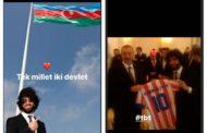 Arda Turandan Azərbaycana dəstək - Foto