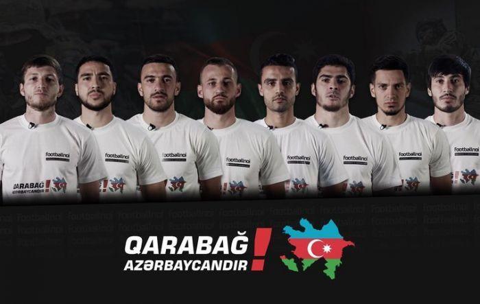Futbolçulardan Qarabağ müraciəti – Video