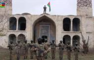 Azərbaycan bayrağı Ağdamda ucaldıldı, azan verildi – Video