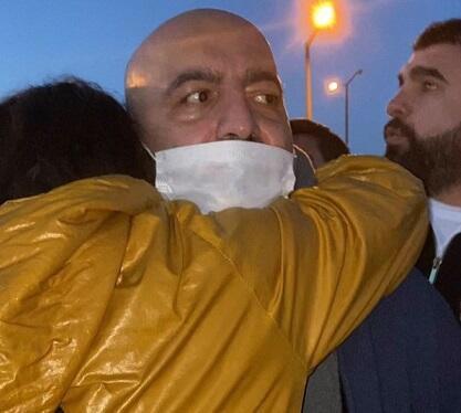 Mübariz Mənsimov azadlıqda - Foto