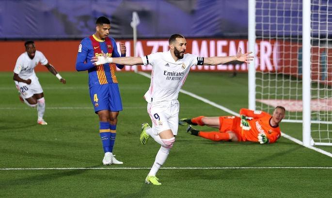 """""""Real"""" """"Barselona""""nı udub lider oldu - Video"""